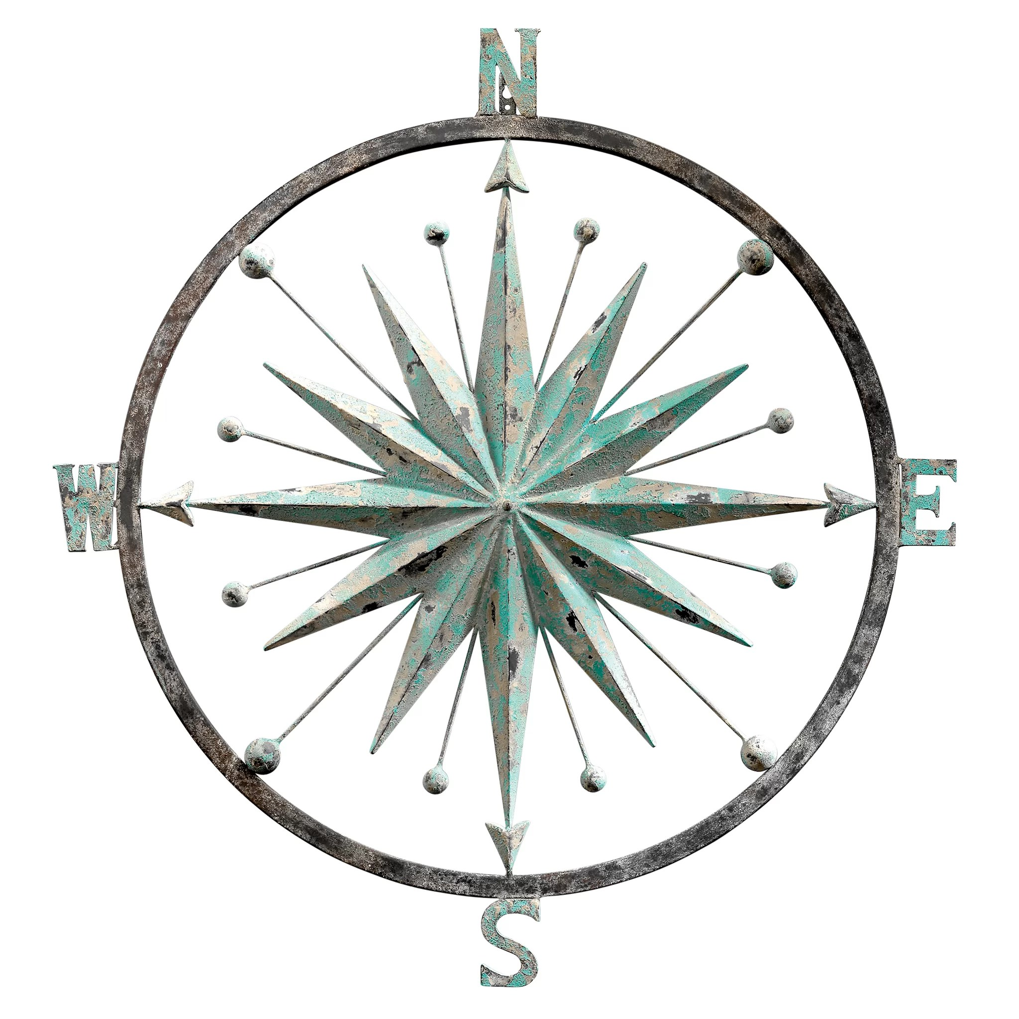 Design Toscano Rose Of The Winds Compass Rose Wall Decor