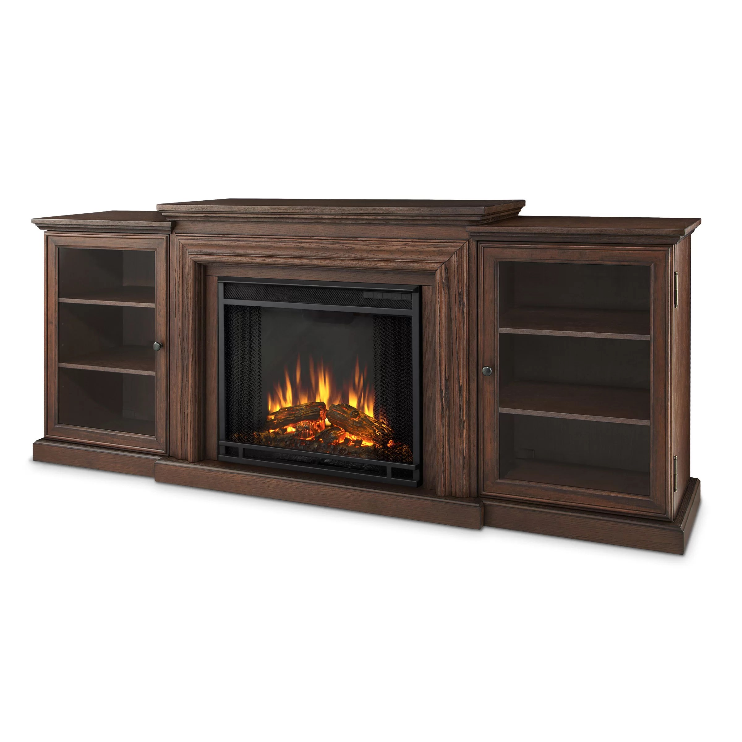 Real Flame Frederick Tv Stand With Electric Fireplace