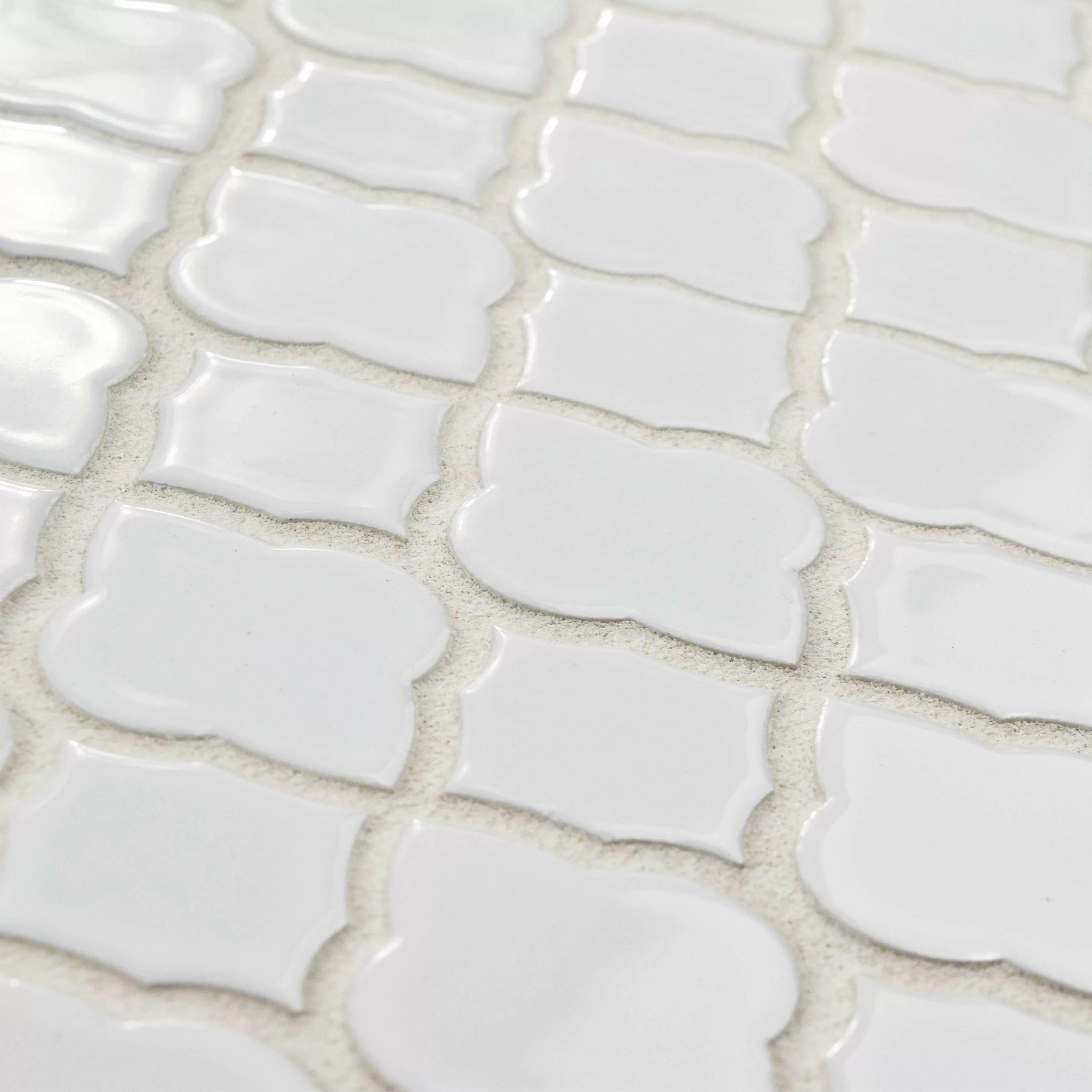 Elitetile Goulette 10 5 X 10 5 Ceramic Mosaic Floor And