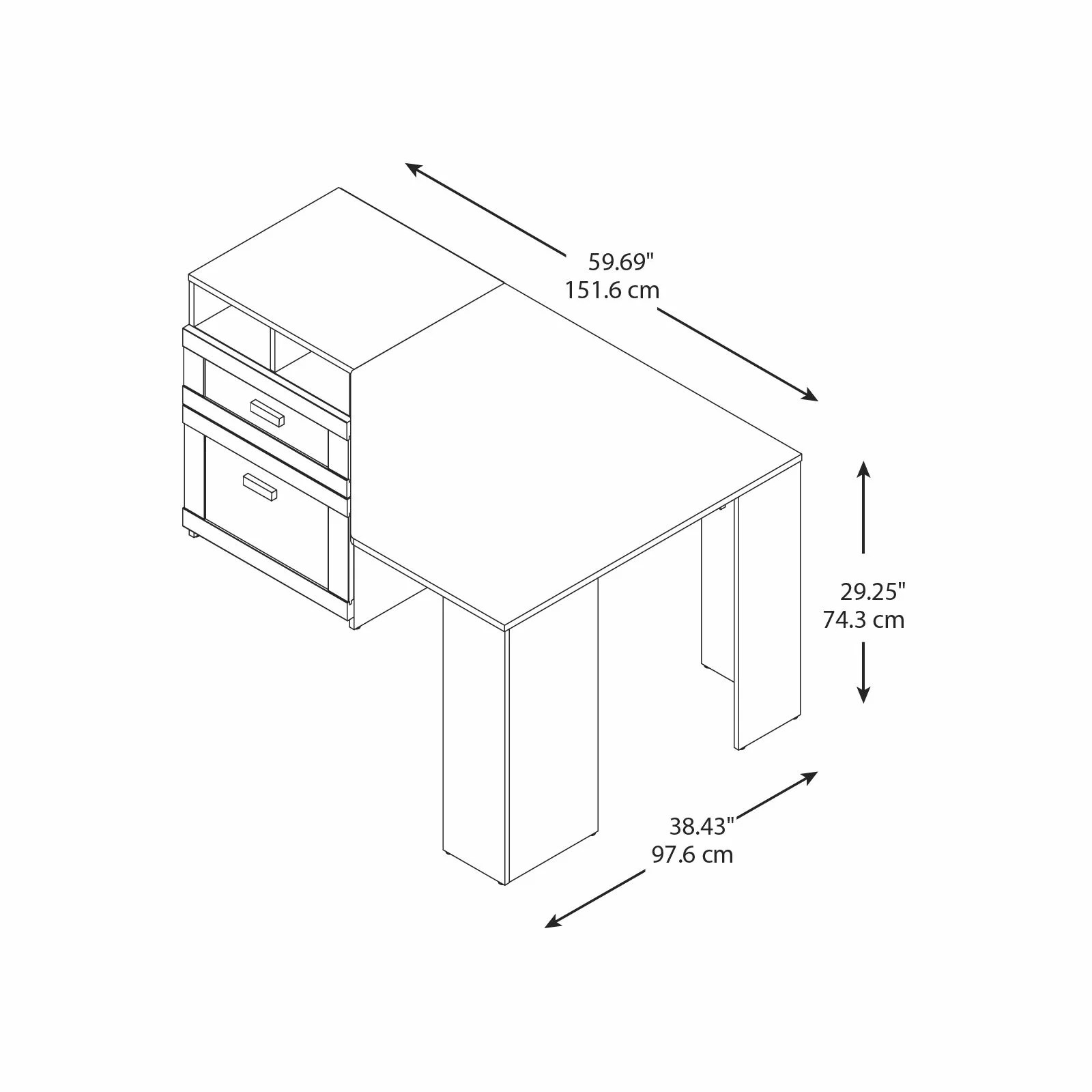 Bush Furniture Wheaton Computer Desk Amp Reviews