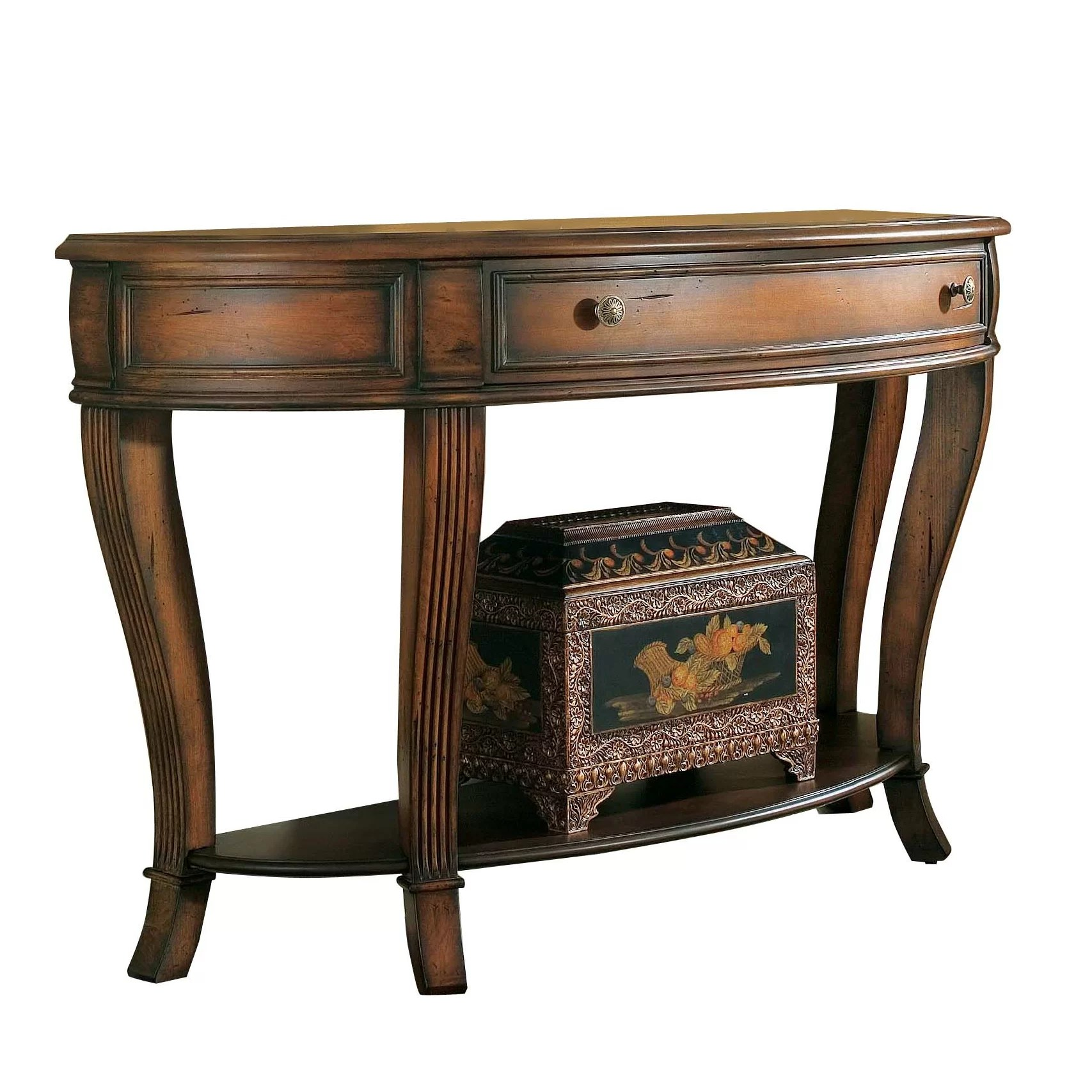 Hooker Furniture Brookhaven Console Table Amp Reviews Wayfair