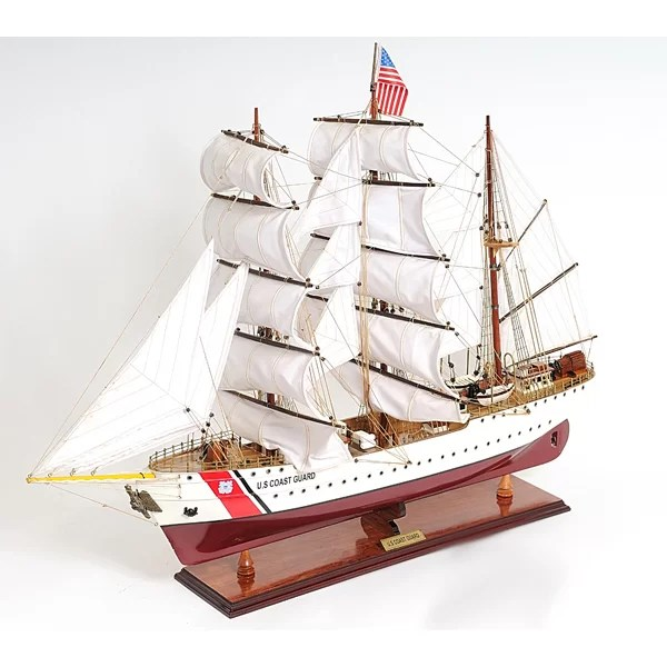 Old Modern Handicrafts Us Coast Guard Eagle EE Sailing