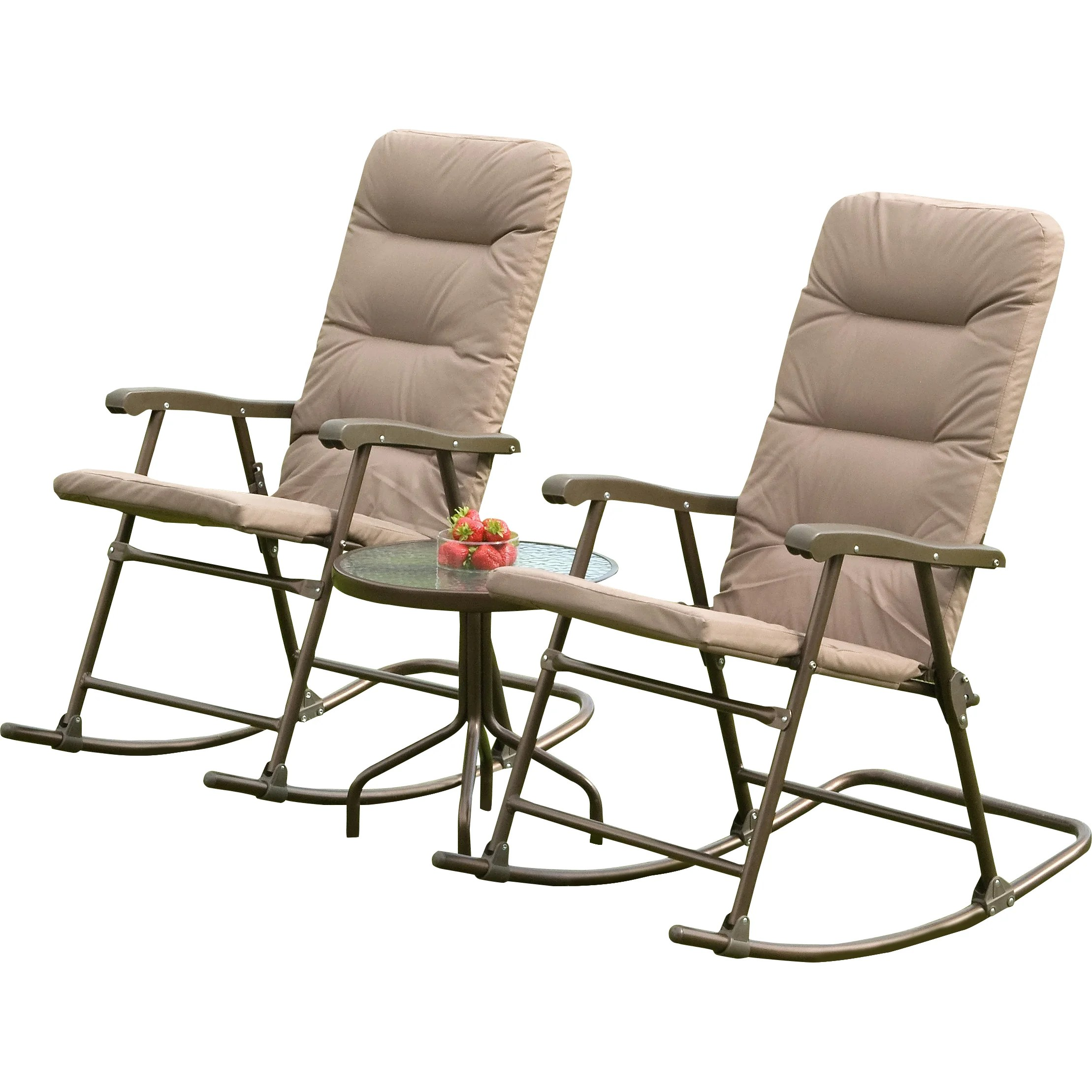SunTime Outdoor Living Hereford 3 Piece Rocker Seating ... on Suntime Outdoor Living  id=57022