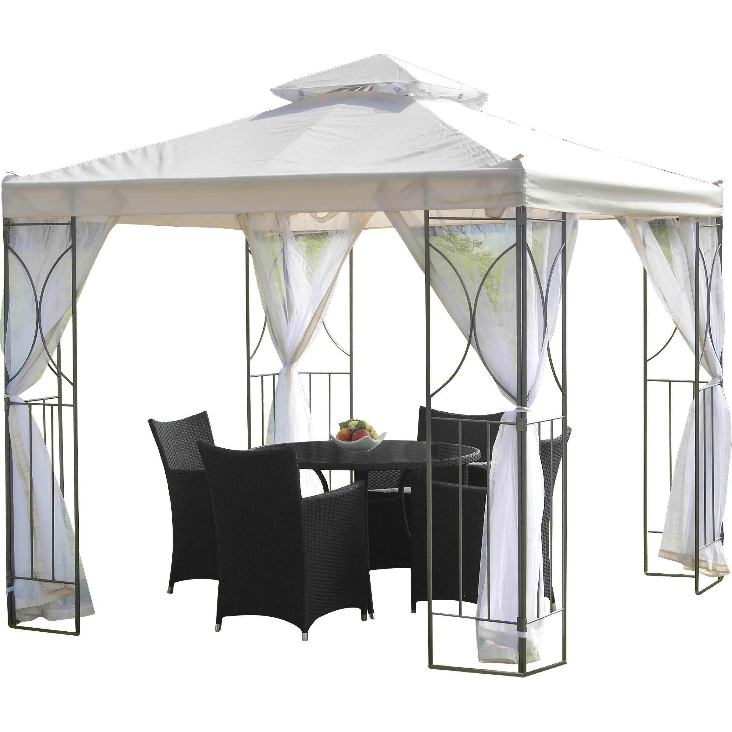 SunTime Outdoor Living Polenza 8 Ft. W x 8 Ft. D Metal ... on Suntime Outdoor Living  id=87104