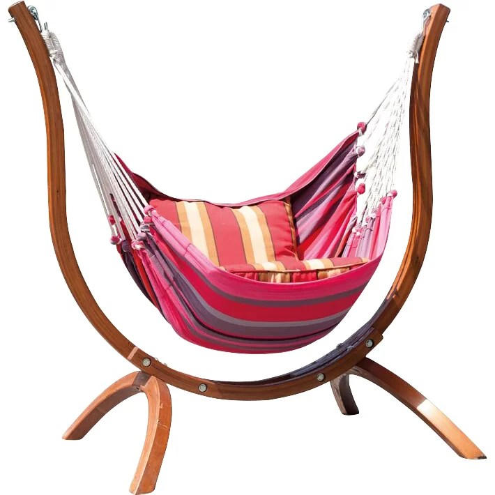 SunTime Outdoor Living Patagonia Wooden Striped Chair ... on Suntime Outdoor Living  id=14783