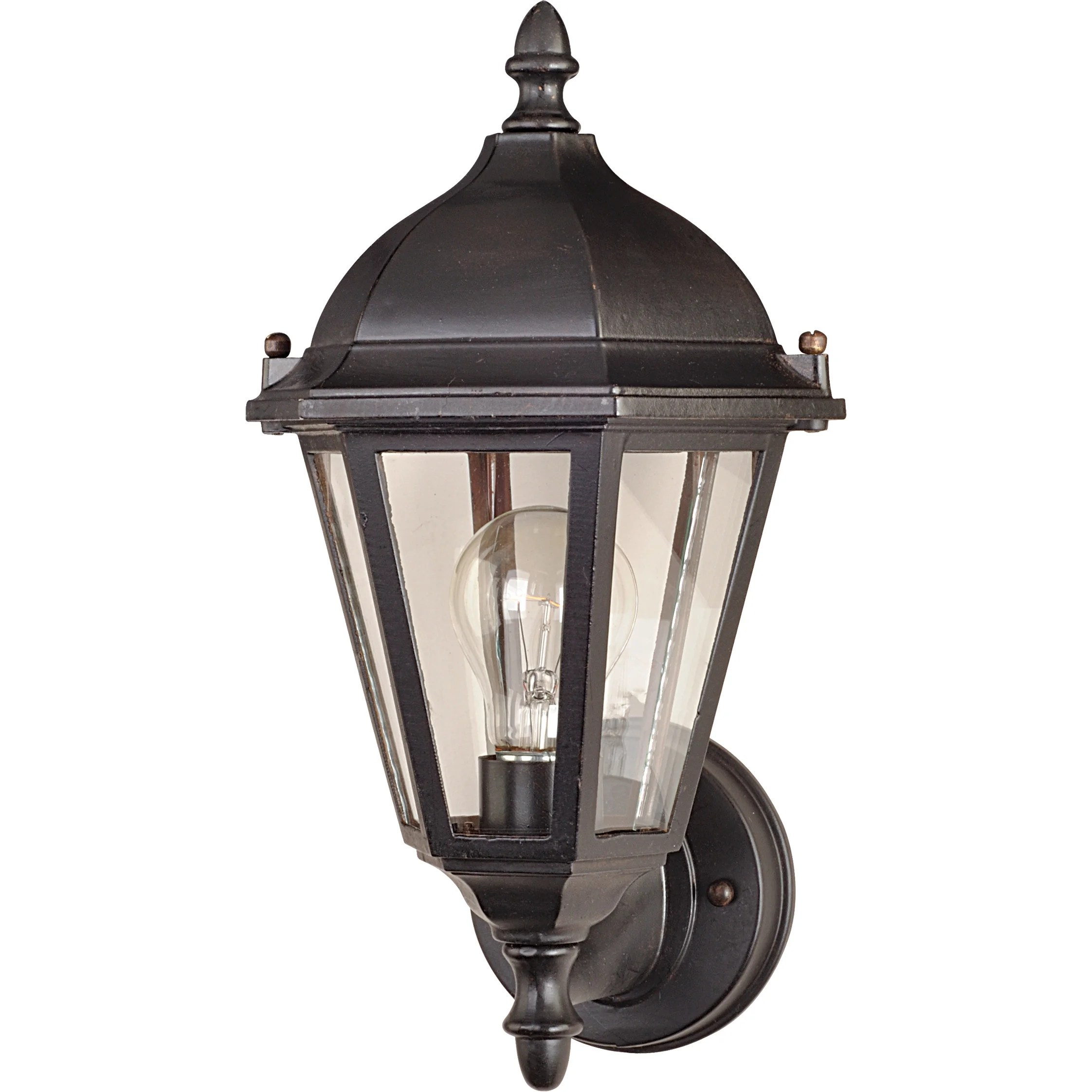 Maxim Lighting Westlake 1 Light Outdoor Sconce & Reviews ... on Sconce Outdoor Lighting id=35705