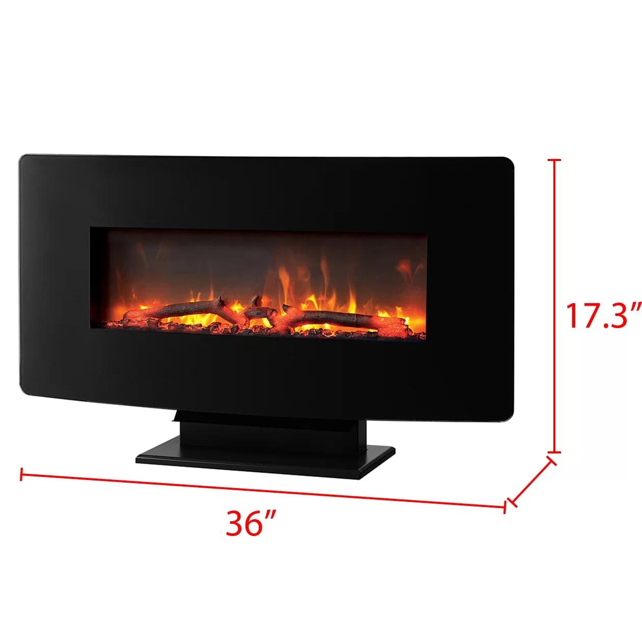 Muskoka Wall Mount Electric Fireplace Amp Reviews