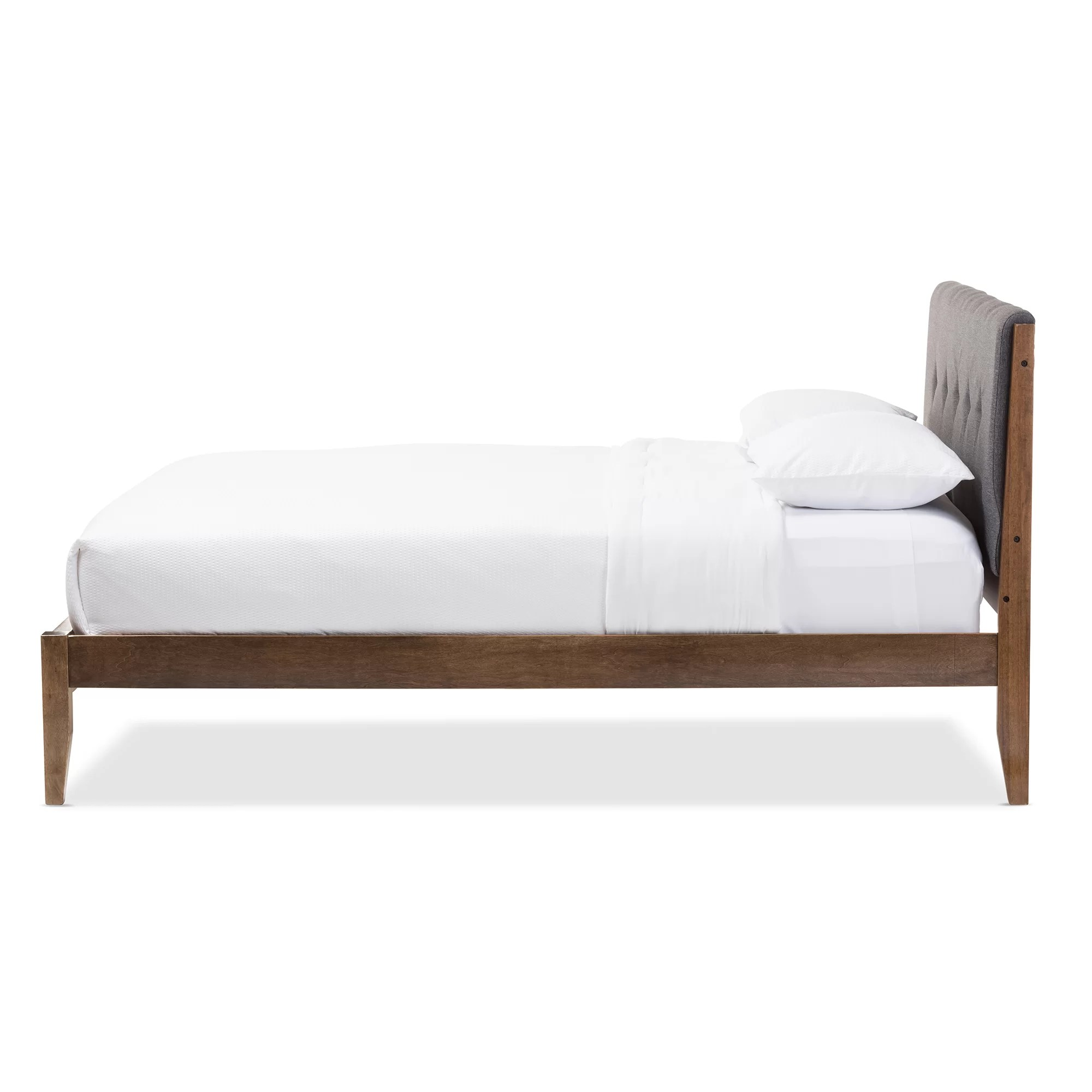 Brayden Studio Smotherman King Upholstered Platform Bed