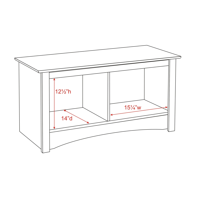 Latitude Run Wanda Storage Bedroom Bench Amp Reviews