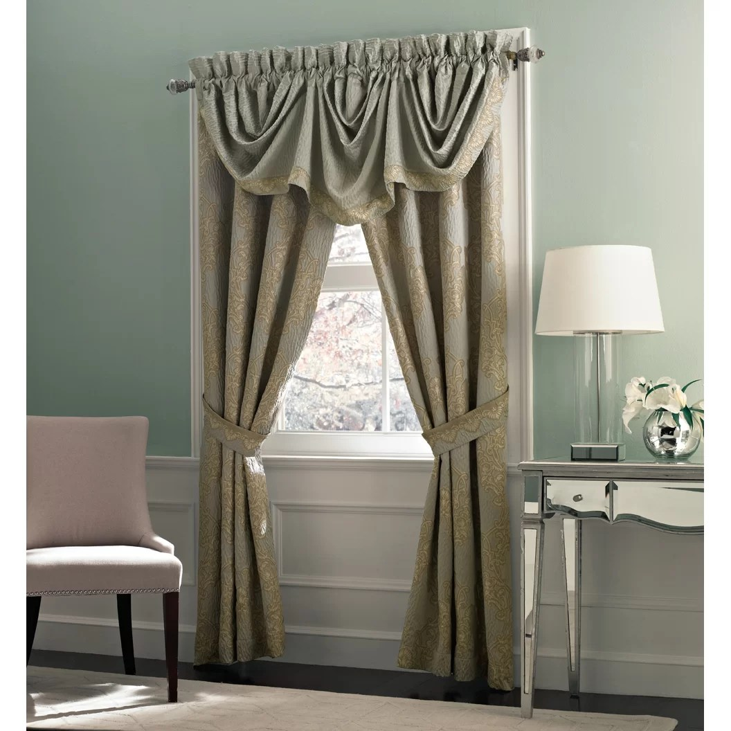 Croscill Opal Imperial 82 Curtain Valance Amp Reviews