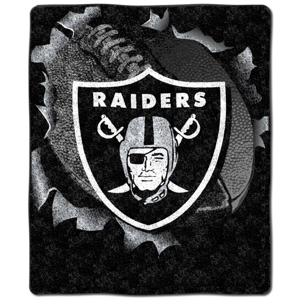 Northwest Co. NFL Oakland Raiders Cotton Throw Pillow ...