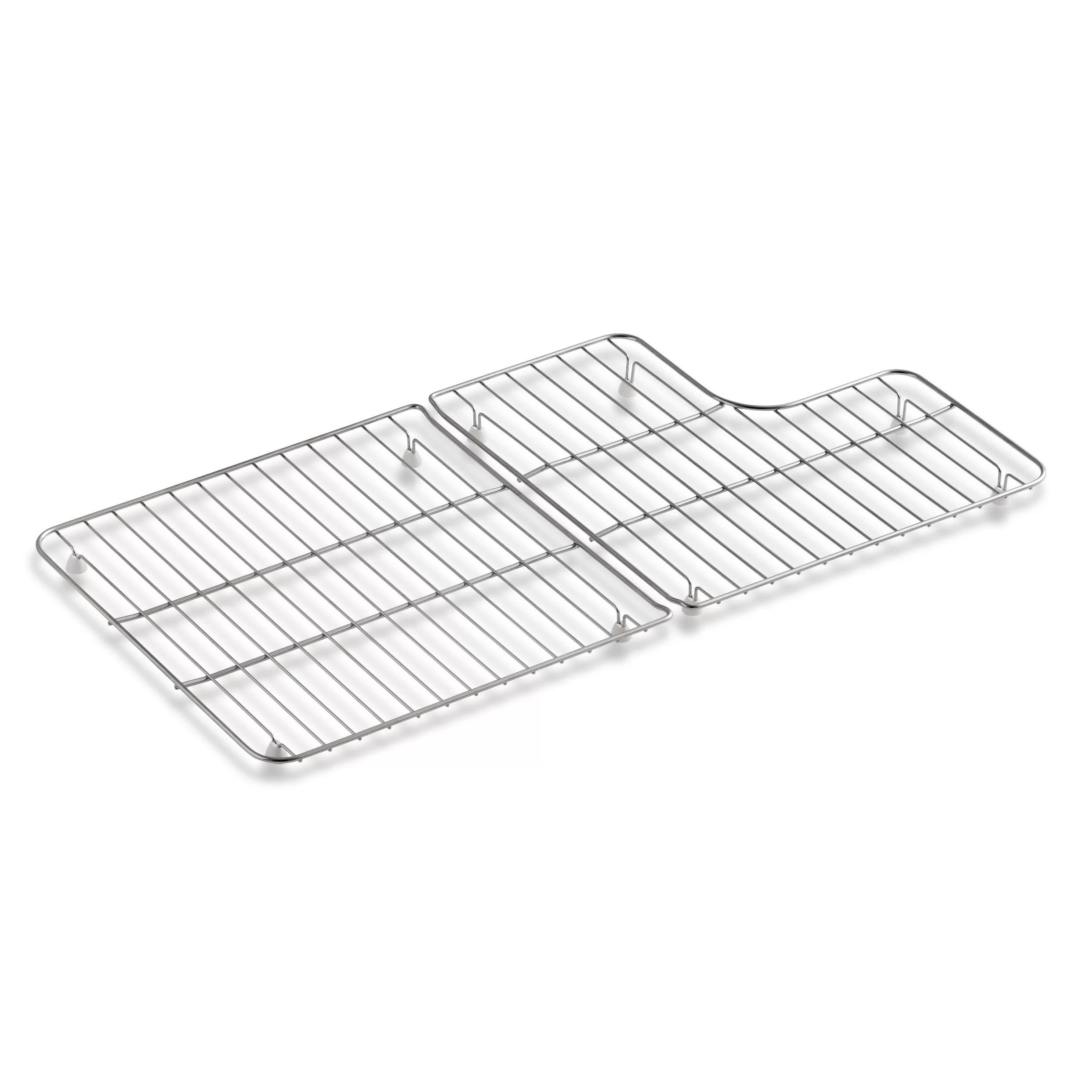 Kohler Stainless Steel Sink Racks For 36 Whitehaven