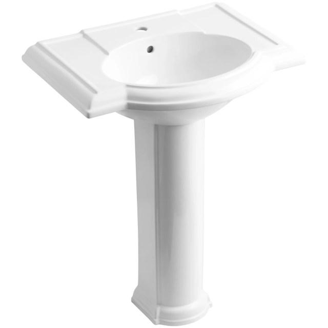 Kohler Pedestal Sinks Small Bathrooms