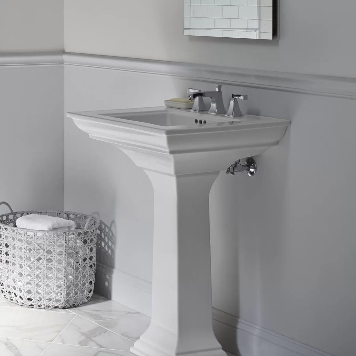 Kohler Memoirs Bathroom Sink Pedestal Amp Reviews