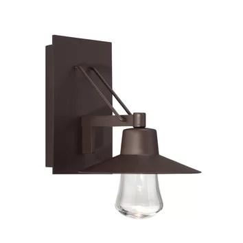 Modern Forms Suspense 1 Light Indoor/Outdoor LED Wall ... on Modern Indoor Wall Sconce id=24800