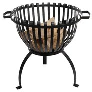 Tulip Cast Iron Fire Basket