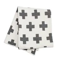 Swiss Cross Throw Blanket