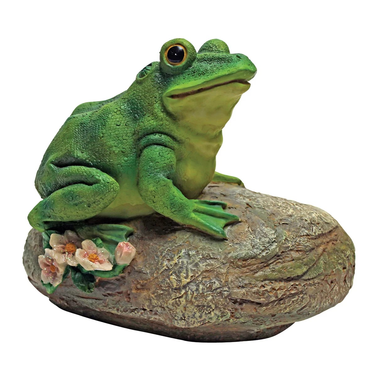 Thurston The Frog Garden Statue