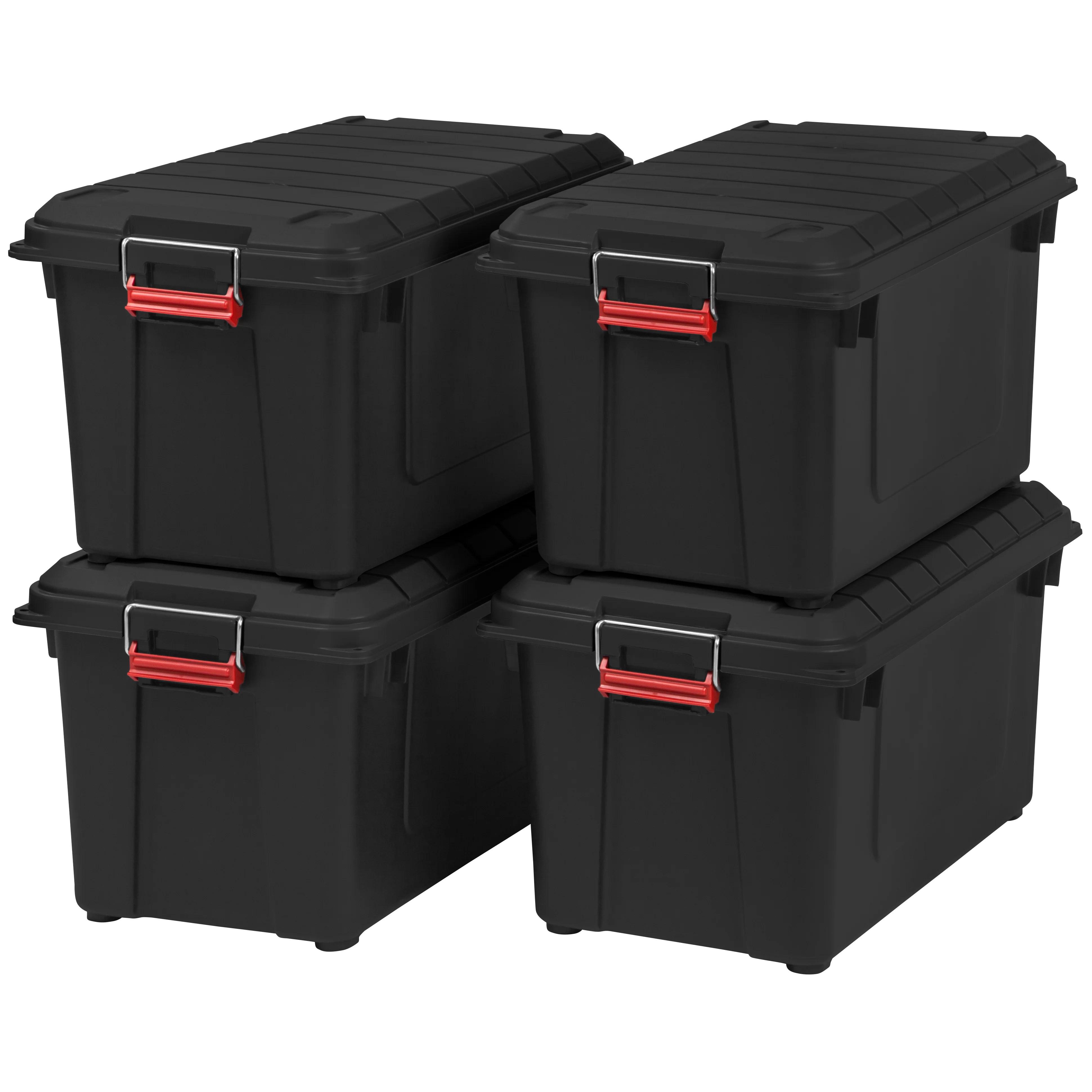 21 8 Gallon Weathertight Heavy Duty Storage Tote Wayfair