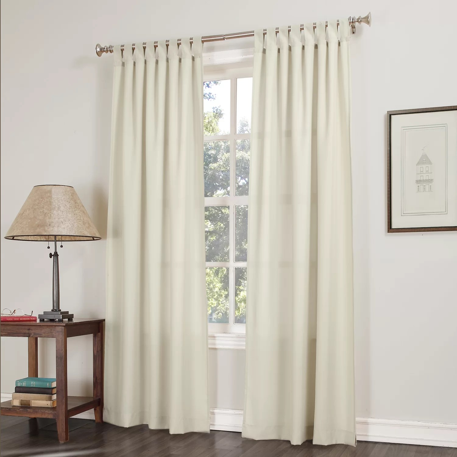 No 918 Kelvin Tab Top Single Curtain Panel Amp Reviews