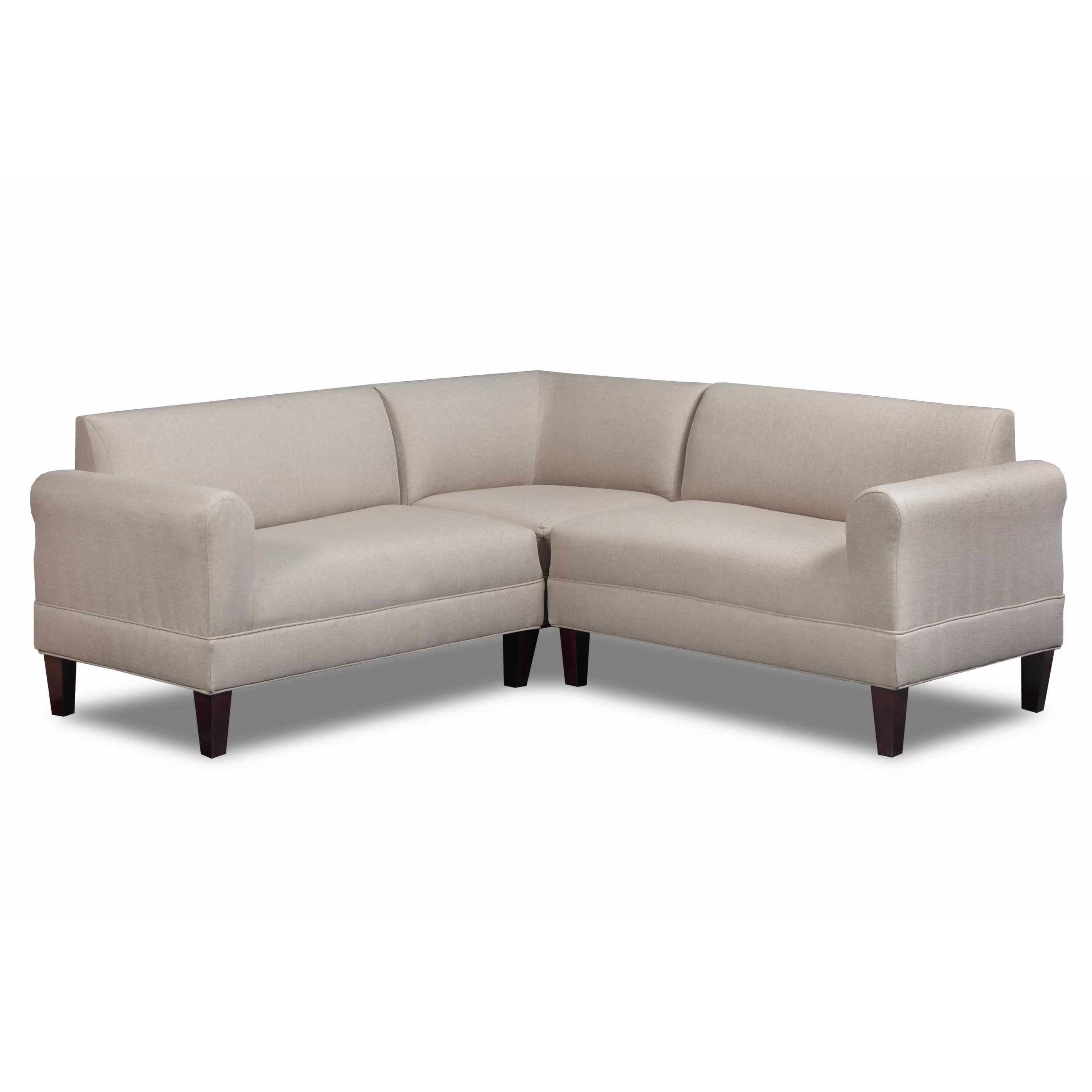 Carolina Accents Briley Sectional & Reviews   Wayfair on Riley 3 Piece Sectional Charleston id=12575