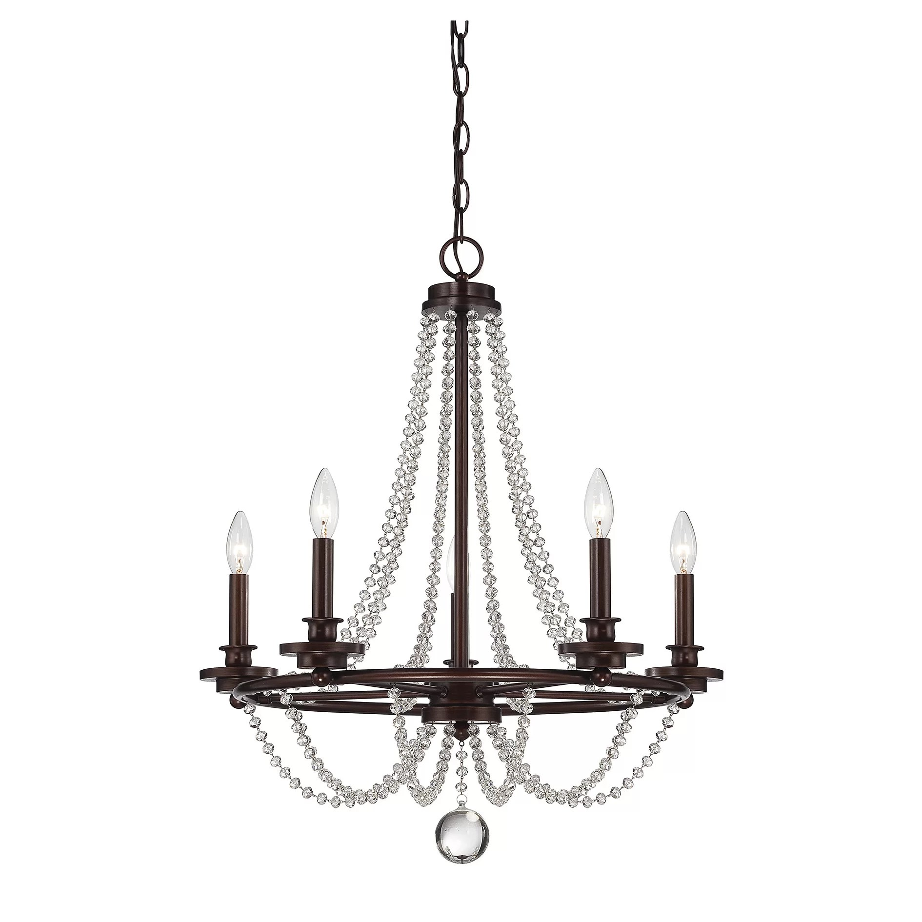 Savoy House Byanca 5 Light Candle Chandelier Amp Reviews