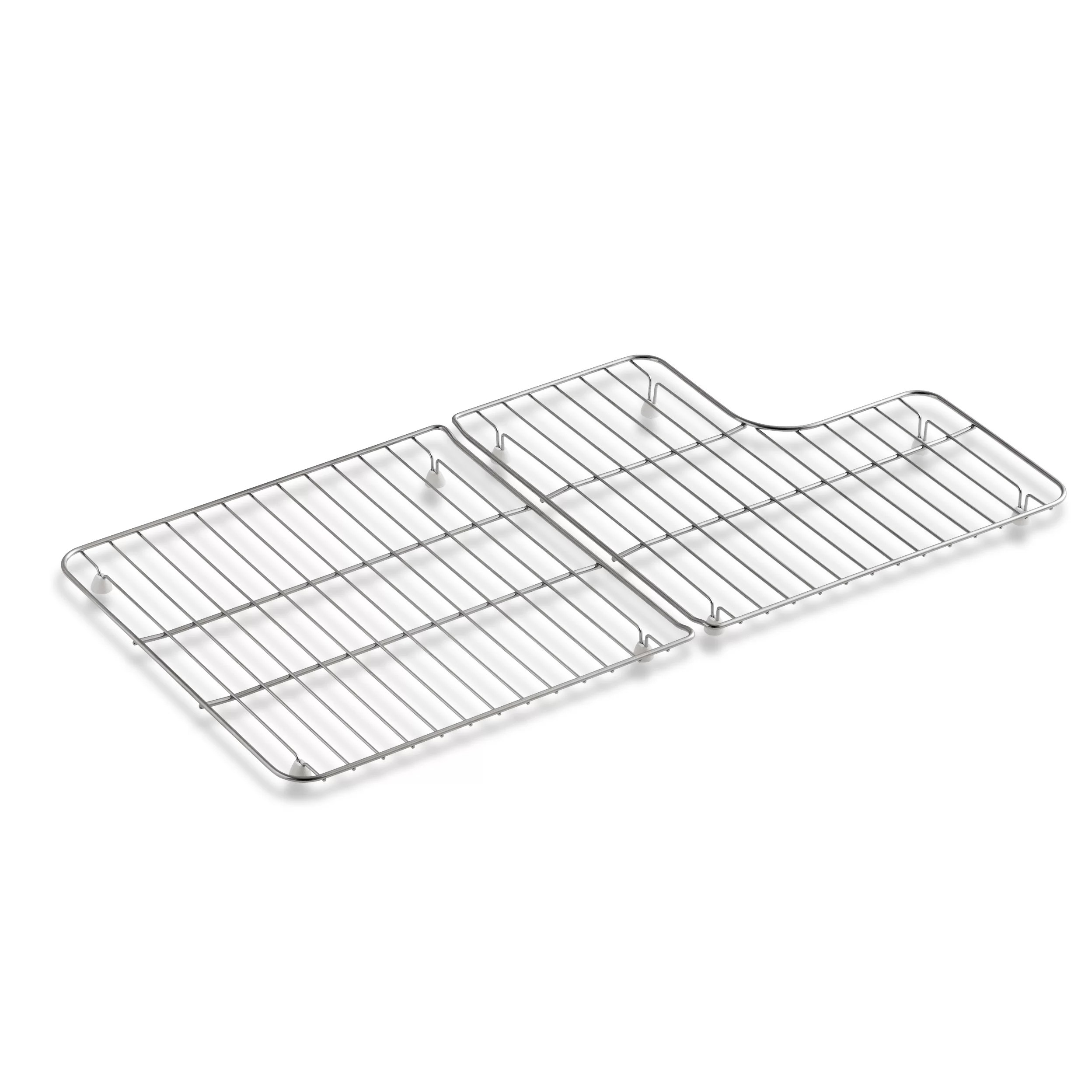 Kohler Stainless Steel Sink Racks For 36 Whitehaven