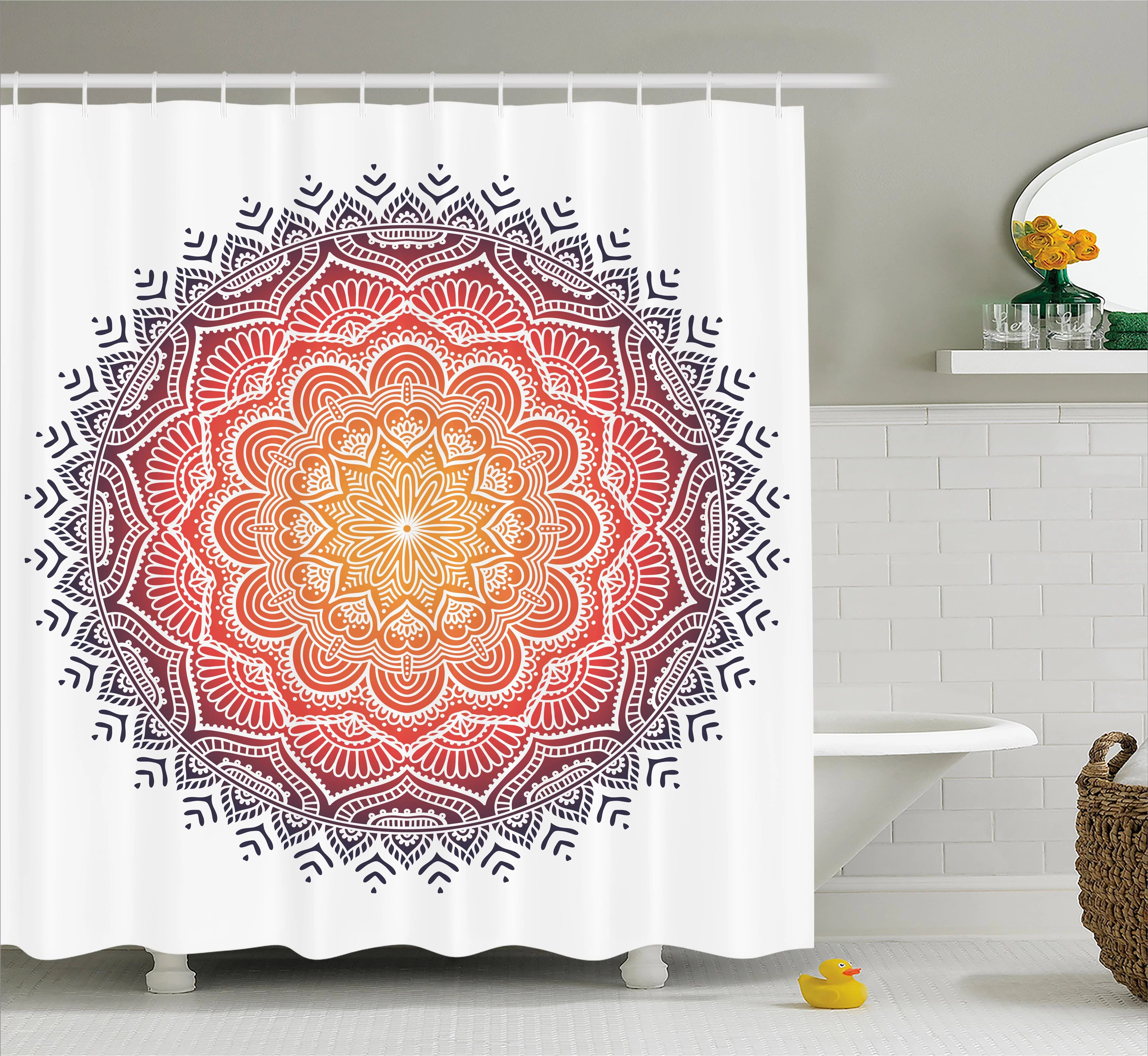 red heart shower curtain waterproof polyester shower curtain sets for men women