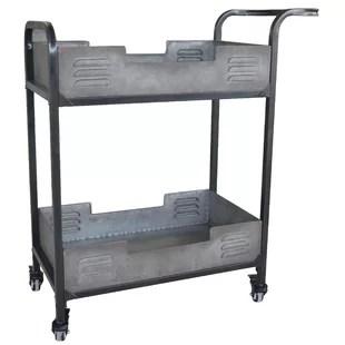 chariot industriel de barre en metal brower