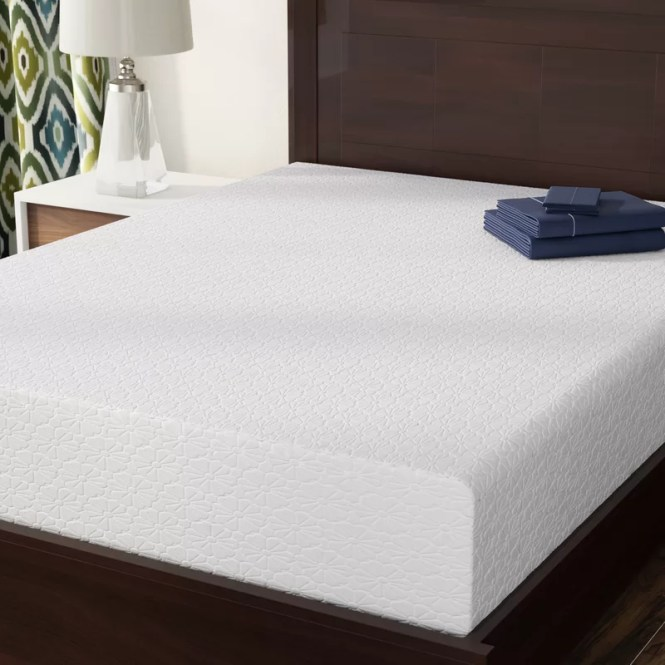 10 Medium Memory Foam Mattress