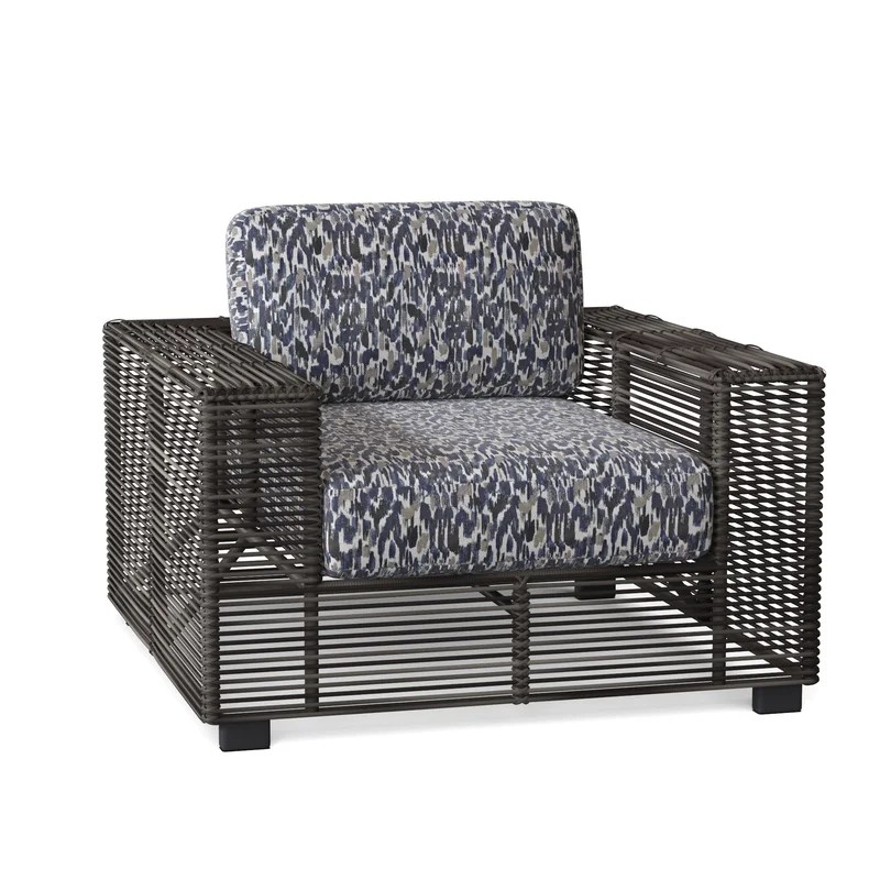 monroe patio chair with cushions