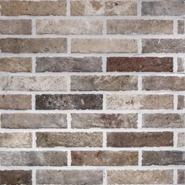 tribeca 2 x 10 porcelain brick look wall floor tile
