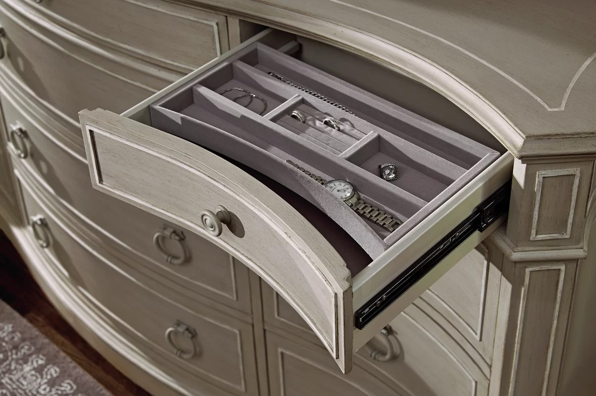 Astoria Grand Clevinger 12 Drawer Dresser Amp Reviews Wayfair