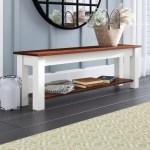 Alcott Hill Teri Solid Wood Shoe Storage Bench Reviews Wayfair
