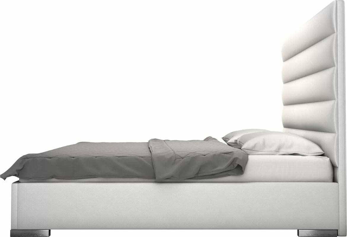 Prince Upholstered Platform Bed Amp Reviews AllModern