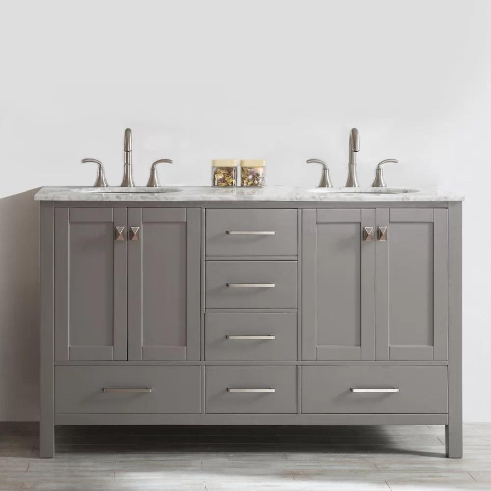 atencio 72 double bathroom vanity