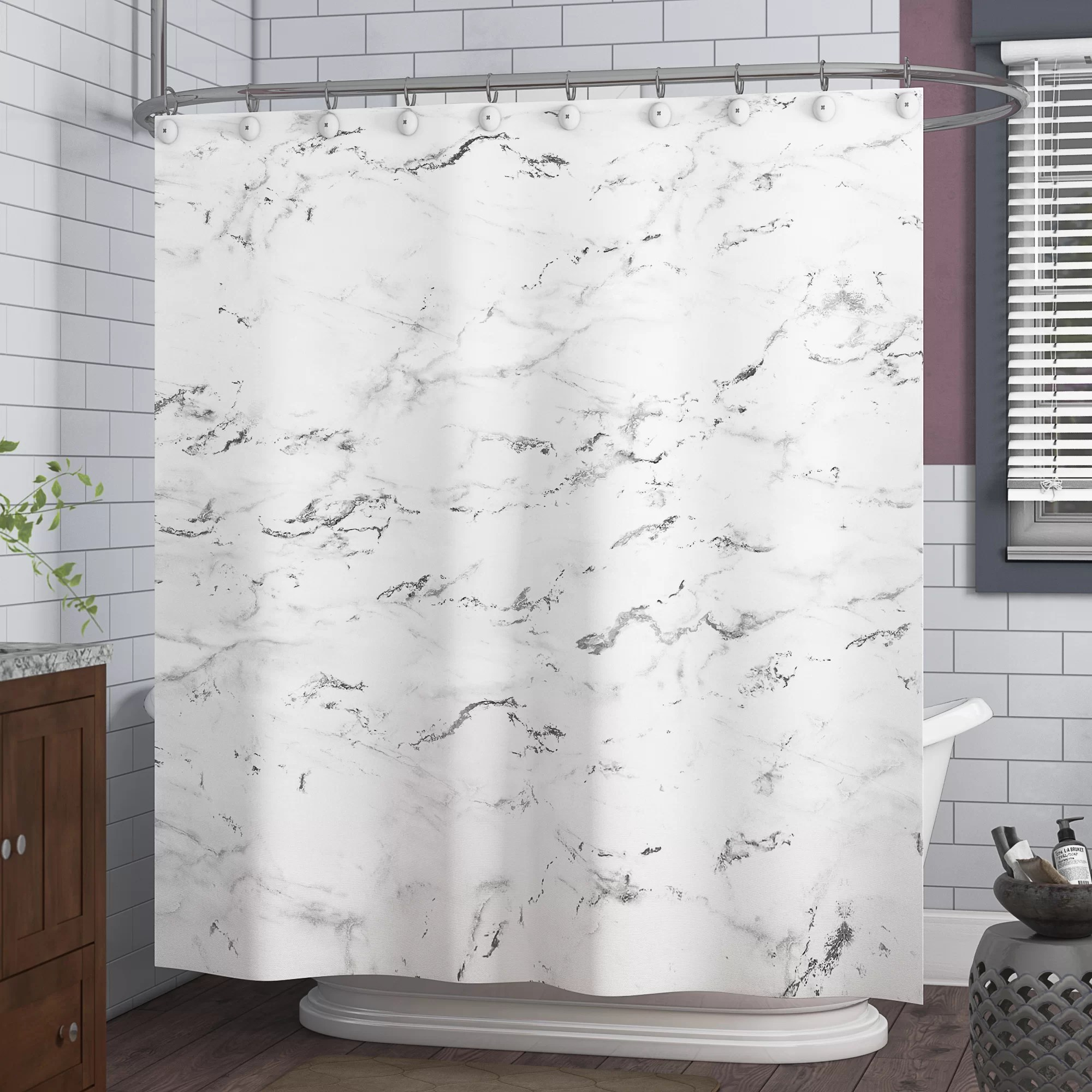 Shower Curtains Art Marble Shower Curtain Set Bathroom Waterproof Polyester Curtains Bath Mat Icjoinville Com Br