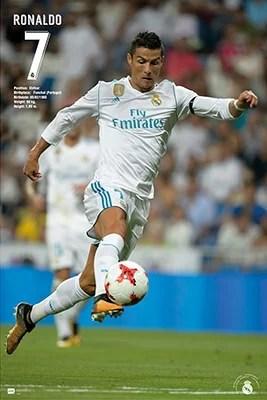 Real Madrid 2016//2017 Ronaldo Poster 61x91,5 cm