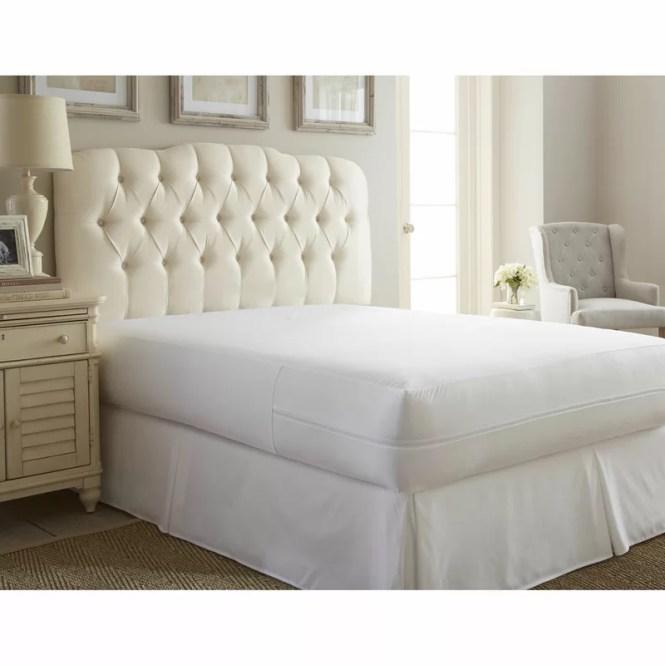 Ultra Soft Bed Bug Zipper Hypoallergenic Waterproof Mattress Cover
