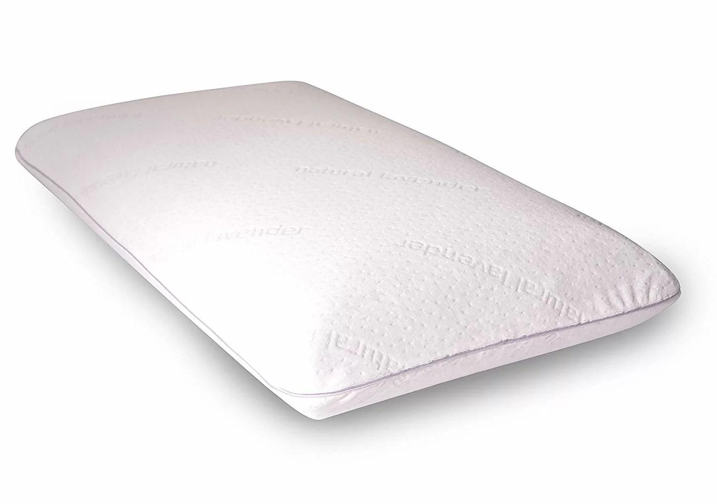 new york aromatherapy memory foam queen medium support pillow