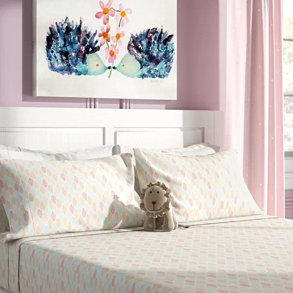 light blue bed sheets