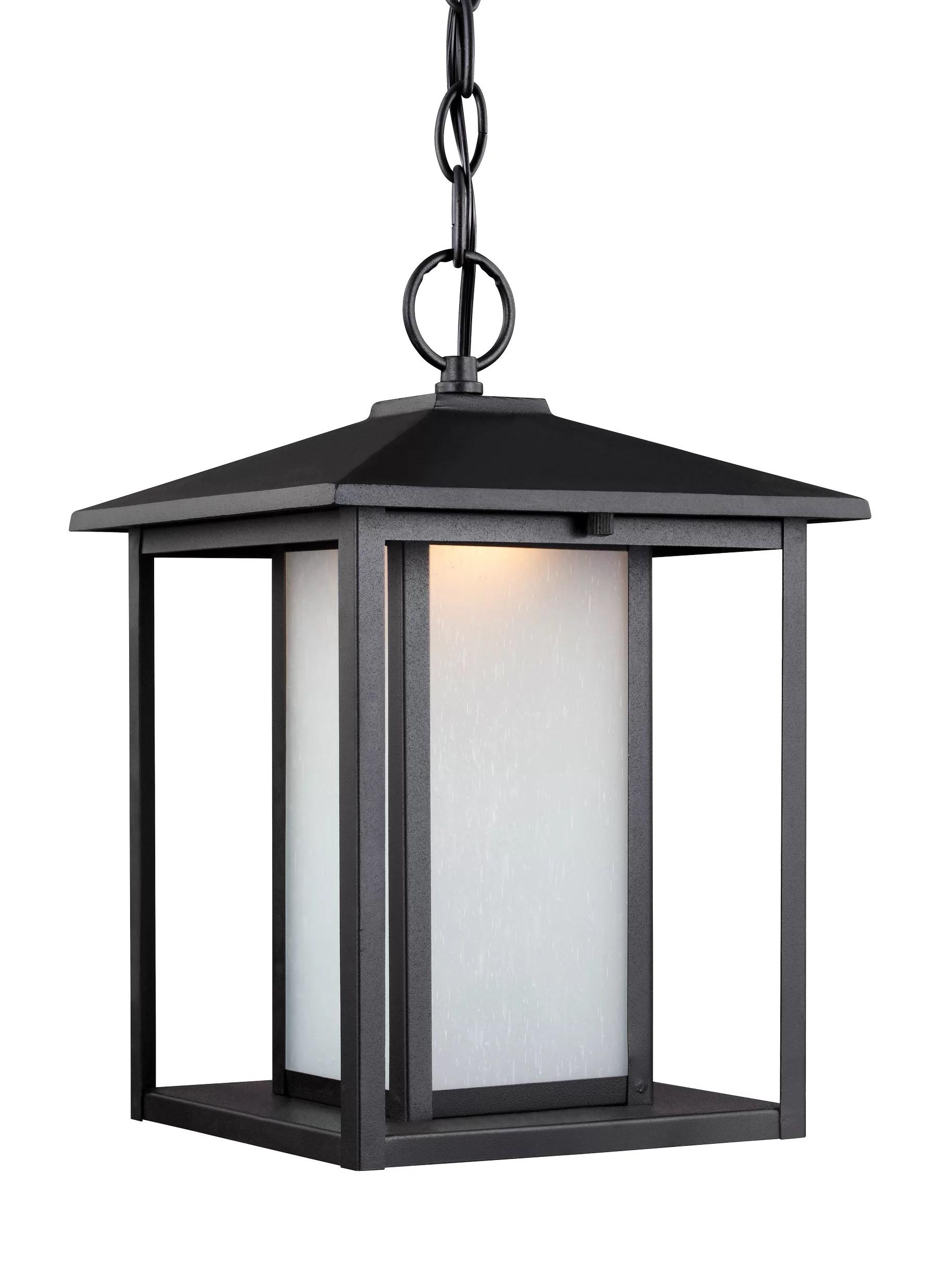 Breno 1 Light Led Hanging Lantern Pendant