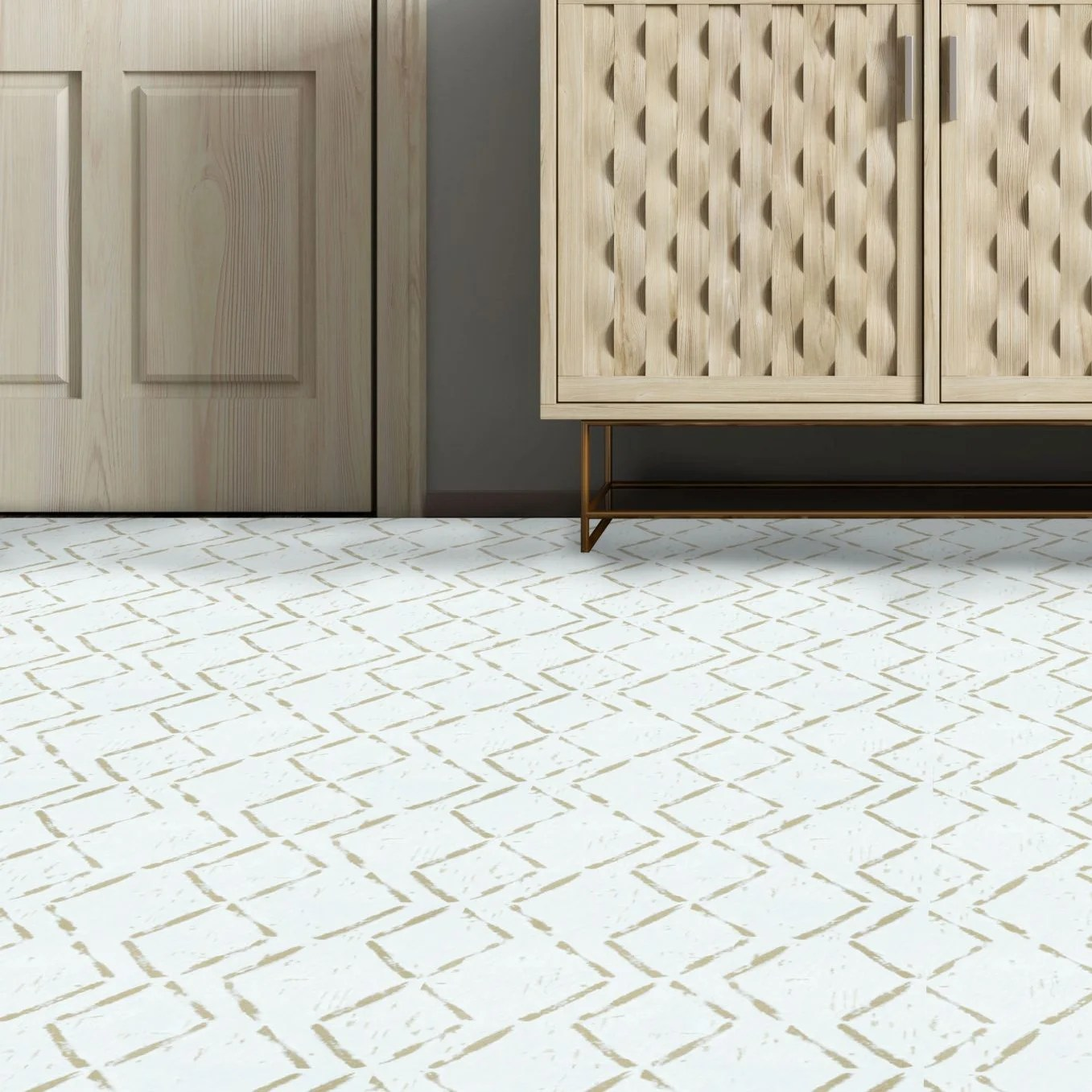 achim importing co retro 12x12 self adhesive vinyl floor tile diamond 20 tiles 20 sq ft wayfair ca