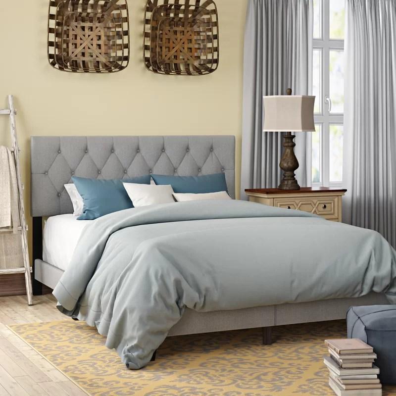 Drusilla Upholstered Standard Bed