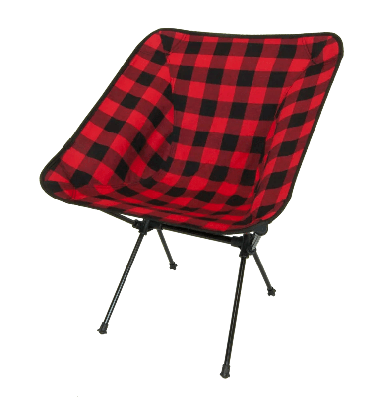 Winston Buffalo Plaid Folding Camping Chair