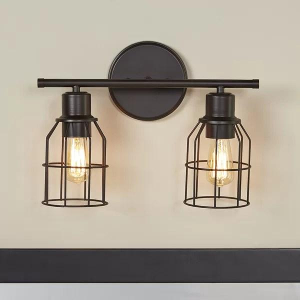 Trent Austin Design Cessal 2-Light Vanity Light & Reviews ... on Wayfair Bathroom Sconces id=97489