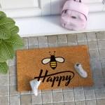 Rugs Carpets Bee Design Coir Door Mat Bathroom Kitchen Floor Carpet Non Slip Rug Home Decor Home Furniture Diy Ot Baieducotentin Fr