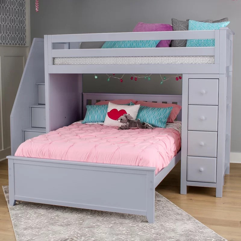 bed l shaped bunk bed