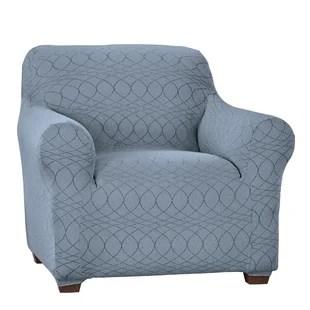 elegant jacquard stretch t cushion armchair slipcover
