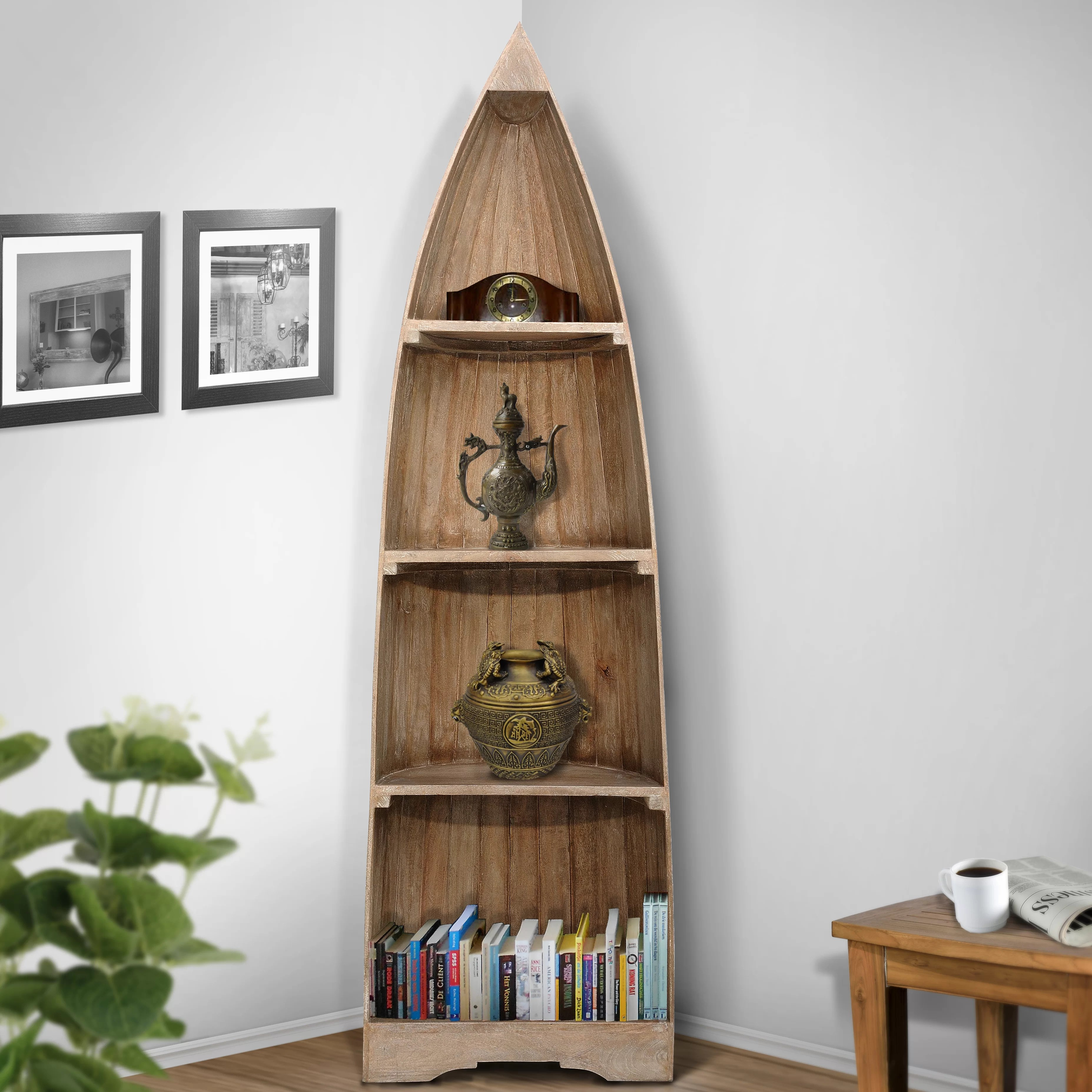 Casual Elements Boat Bookcase Reviews Wayfair